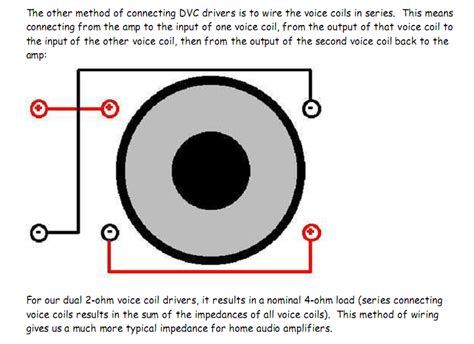 subwoofer wiring diagram for 1 dvc 2 ohm free