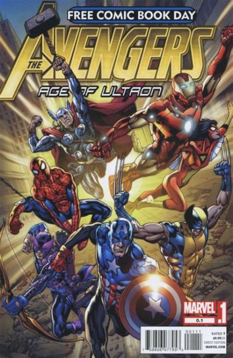 free comics age of ultron free comic book day 0 1 marvel