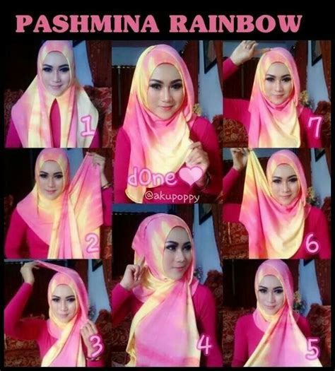 tutorial turban pashmina pesta 225 best images about tutorial hijab on pinterest