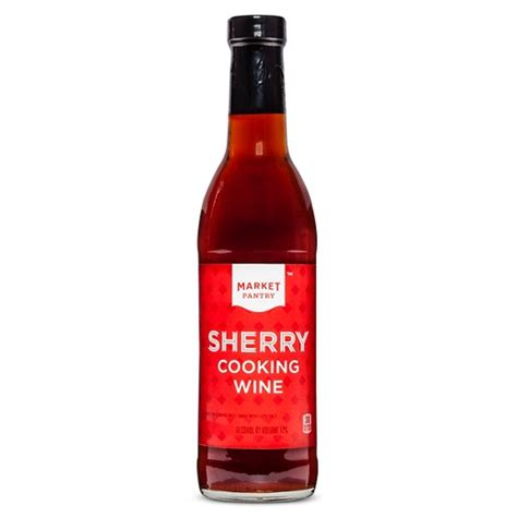 sherry cuisine sherry cooking wine 12 7oz market pantry target