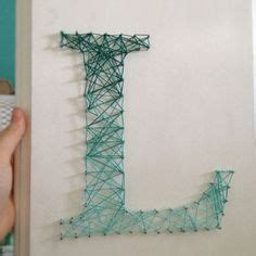 How To Do String Letters - 1000 images about letters on string letters