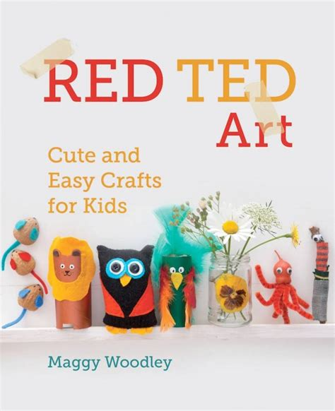 arts and crafts books for hobby from ted