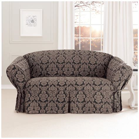 fitted slipcovers for loveseats sure fit 174 middleton loveseat slipcover 581236 furniture