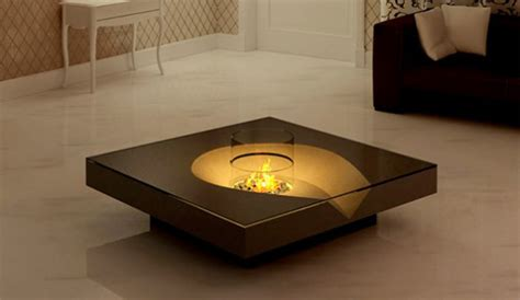 coffee table fireplace ideas iroonie