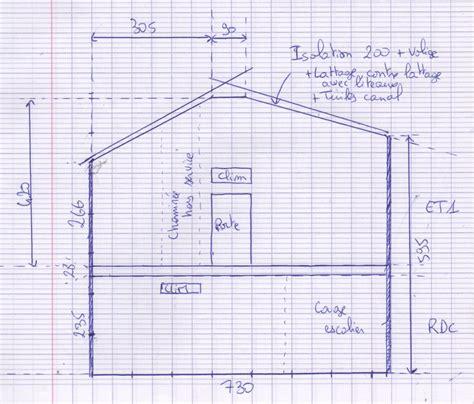 Hauteur Sous Plafond Reglementaire by Maison Etage Hauteur