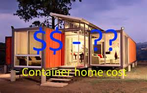 How Much Does A Prefab Home Cost shipping container home cost to build cheap or expensive