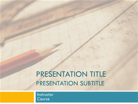 academic presentation powerpoint template academic presentation for college course planners templates