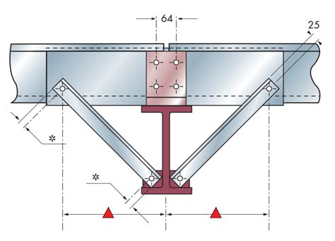 albion sections cleader rail and rafter stays albion sections