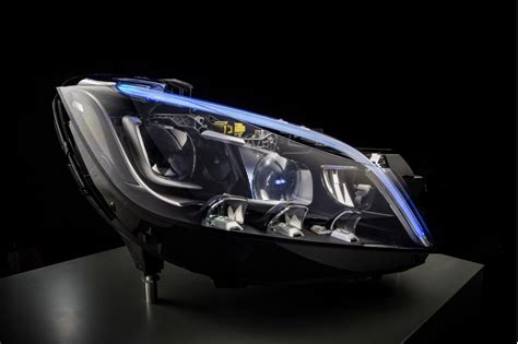 mercedes technology mercedes multibeam led headlight technology