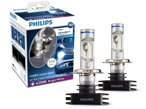 Led H4 Philips l 226 mpada x treme ultinon led h4 philips 6200k 23w