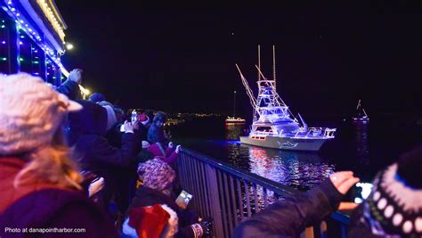 dana point boat parade where to find the holiday boat parades in orange county