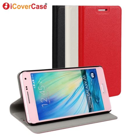 Ume Flip Samsung A5 2015 Flip Cover Samsung A5 2015 cases for samsung galaxy a5 2015 phone cover flip leather wallet coque for samsung a5 a500f