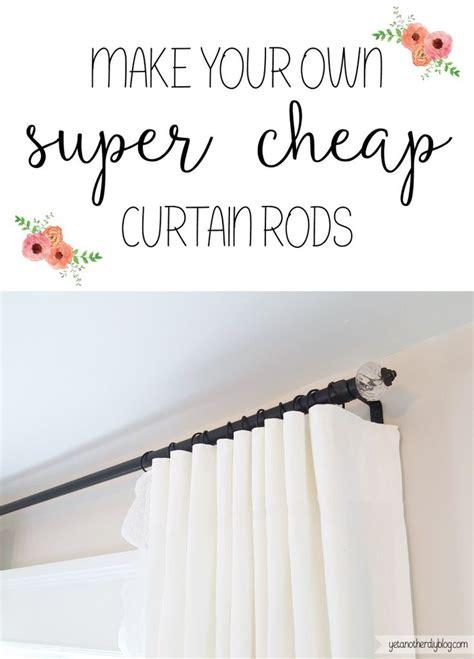 cheap curtain rods diy super duper cheap diy electrical conduit curtain rods