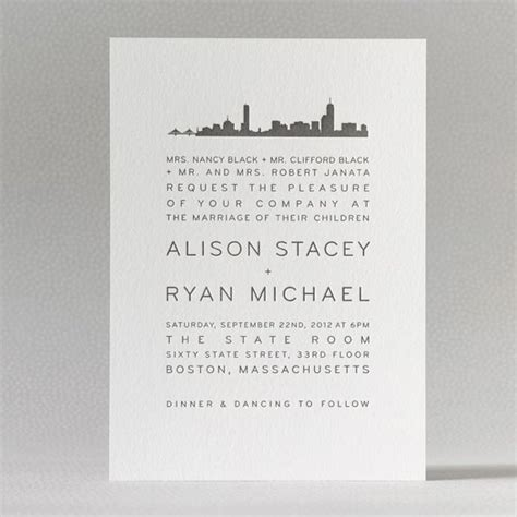 custom wedding invitations in nyc 22 best images about nyc theme invites on