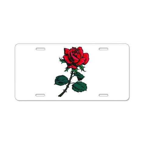 tattoo license aluminum license plate by tattooartshirts