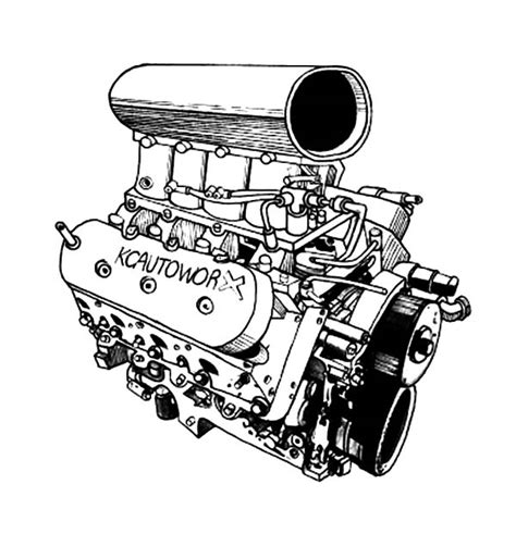 Engine Coloring Pages the tank engine coloring pages 12 car engine coloring page