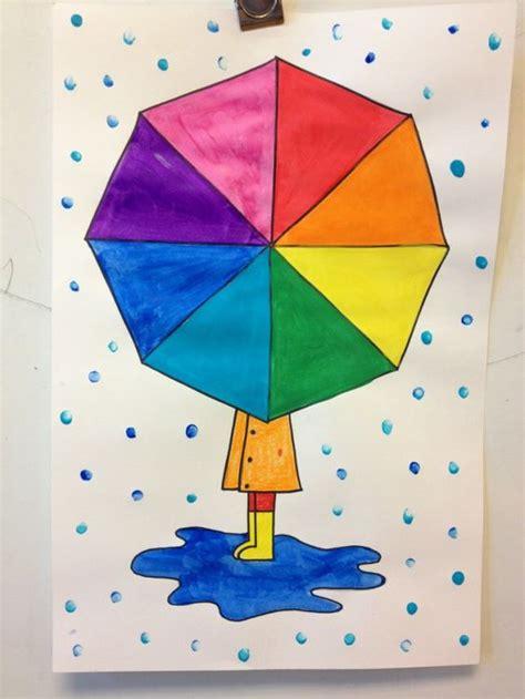 color wheel umbrella umbrellas rainbow colors and color wheels on