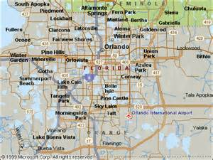 Map Of Orange County Florida by Rental Properties