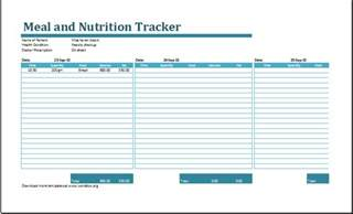 nutrition spreadsheet template calorie amortization schedule with nutrition tracker