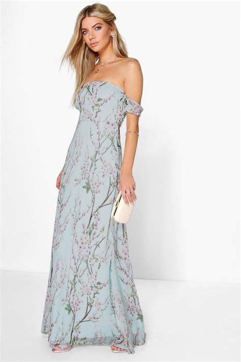 Maxi Flowery Dress 15 beautifully boho bridesmaid and flower dresses