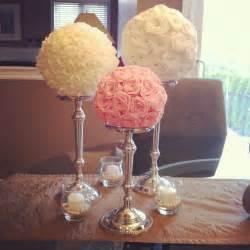 balls centerpieces 25 best ideas about flower centerpiece on
