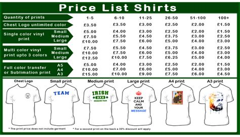vinyl printing rates prices custom embroidery service in london and uk
