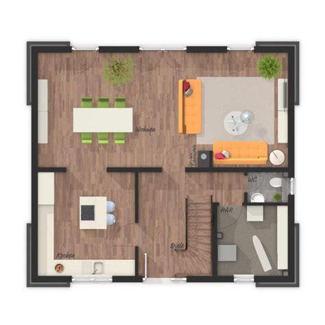 grundriss einfamilienhaus erdgeschoss  zimmer  qm