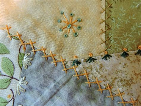 Patchwork Embroidery Stitches - somerset stitch basic embroidery stitches