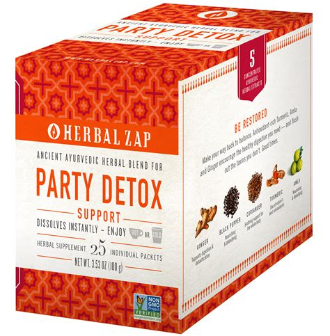 Herbal Zap Detox detox 25 packet box herbal zap ancient ayurvedic