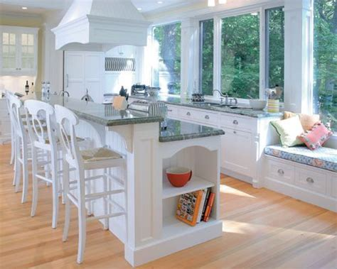 Kitchen Island Bar Seating Home Design Ideas Pictures Houzz Kitchen Islands With Seating