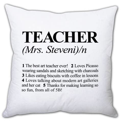 define cusion personalised definition of teacher cushion find me a gift