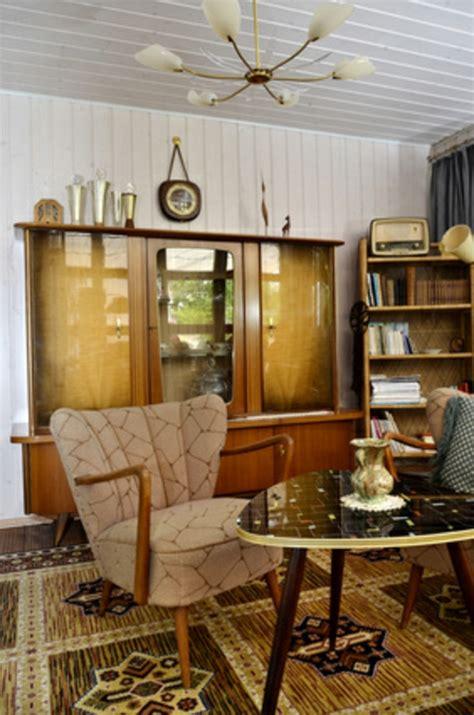 len 50er design tipps f 252 r den retro look im wohnzimmer