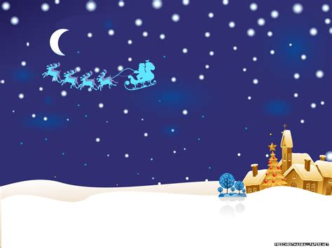 wallpaper christmas night free download christmas night idyll wallpaper wallpapers