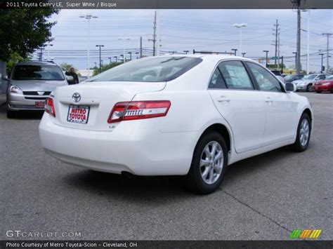 2011 toyota camry le specs 2011 toyota camry le in white photo no 31169577