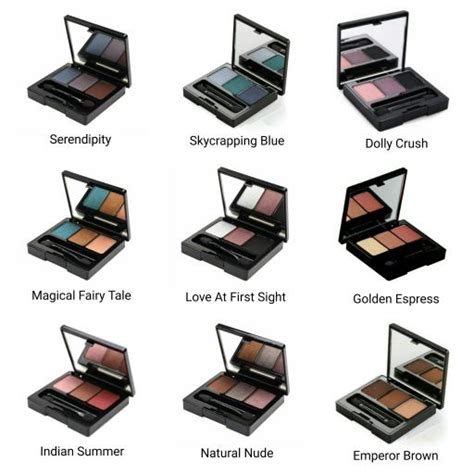 Harga Highlight Makeover make trivia eye shadow elevenia