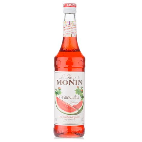Monin Watermelon 700 Ml Cafe Coffee Original Syrup monin watermelon syrup 700ml s of kensington