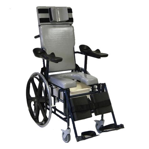 Activeaid Shower Chair by Activeaid Traum Aid Reclining Shower Chair With Commode