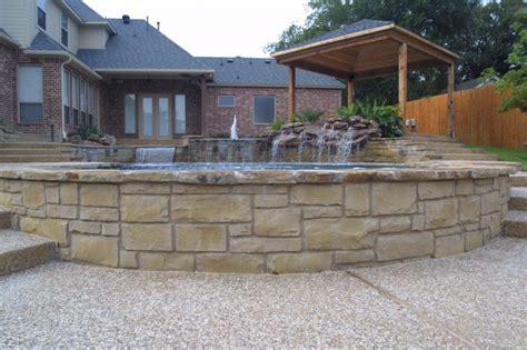 retaining wall options king pools inc