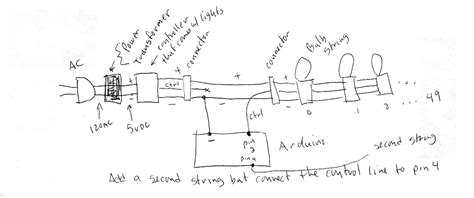 3 wire led lights wiring diagram regarding led light string wiring diagram