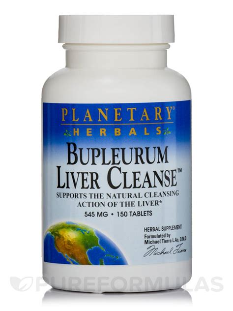 Detox Tablets by Bupleurum Liver Cleanse 545 Mg 150 Tablets