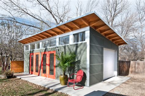 backyard garage designs backyard artist studio contemporary garage and shed