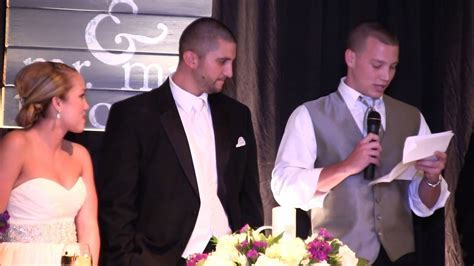 The Funniest Wedding Speech Ever   YouTube