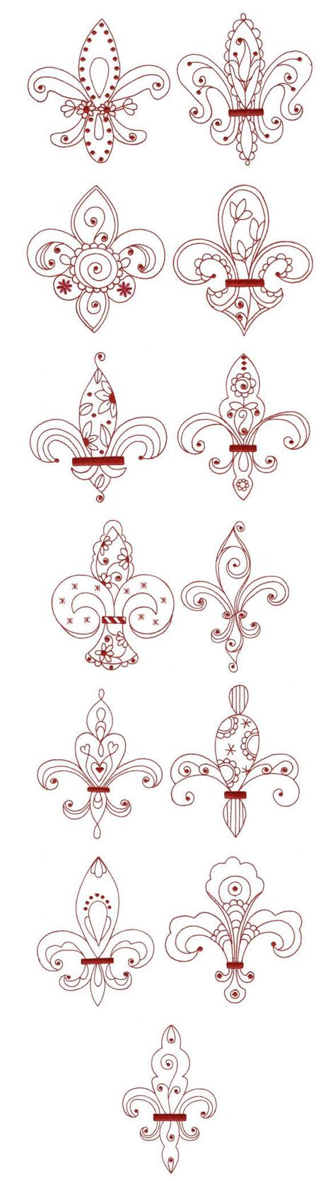 tattoo embroidery designs best 25 fleur de lis ideas on the