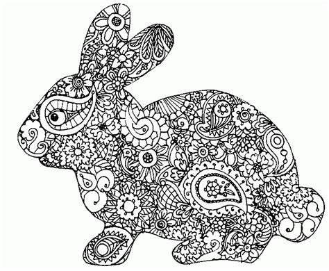 coloring pages for adults bunny easter coloring pages for adults best coloring pages for