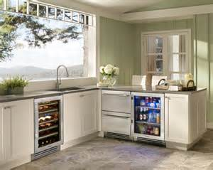 kitchens undercounter refrigerators the new must have modern