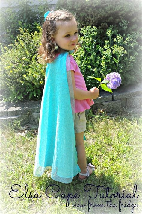pattern for dress up cape elsa cape tutorial juggling act mama