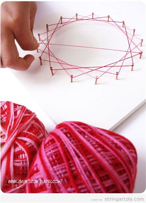 String Designs Step By Step - easy string to make with tutorial string