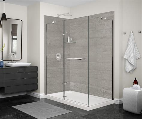designer series utile factory corner shower