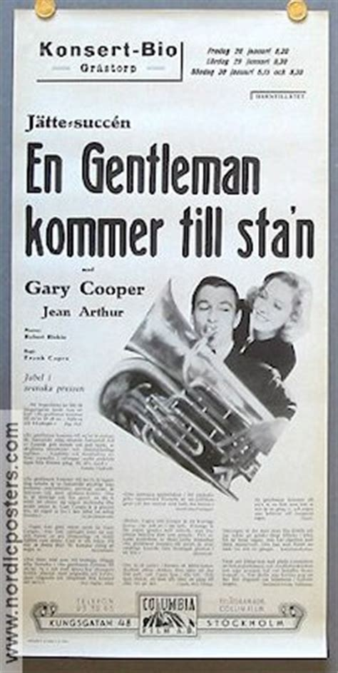 Watch Mr Deeds Goes Town 1936 Full Movie Mr Deeds Goes To Town Poster 1936 Gary Cooper Director