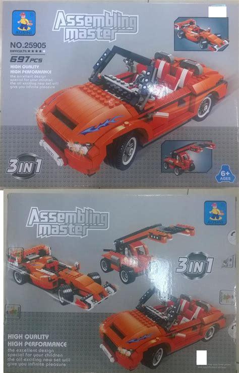 Mainan Die Cast Cars 4 lego 3 in 1 car set kereta end 2 9 2019 12 15 am